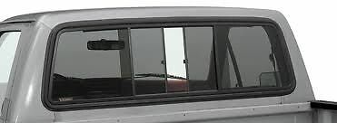 75-96 Ford F100 Parts Rear Sliding Glass Window Tinted With Black Alloy Frame