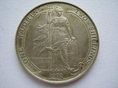 1902 silver Proof Florin