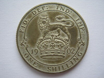 1902 silver Proof Shilling