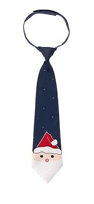 Gymboree Santa Tie, NWT Toddler Size 2T-5T, Holiday Christmas Accessory Boys
