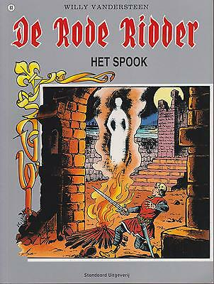DE RODE RIDDER 83 HET SPOOK ongelezen Willy Vandersteen