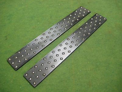 Lot of 2 Roller fixture plates or mini pallets