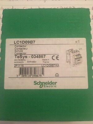 New Schneider Contractor LC1D09B7