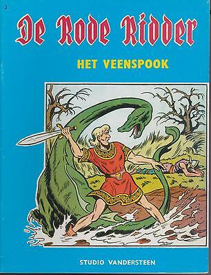 DE RODE RIDDER 3 strip HET VEENSPOOK WILLY VANDERSTEEN