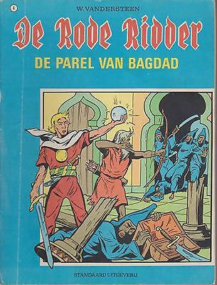 DE RODE RIDDER 4 strip DE PAREL VAN BAGDAD WILLY VANDERSTEEN