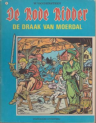 DE RODE RIDDER 9 strip DE DRAAK VAN MOERDAL WILLY VANDERSTEEN