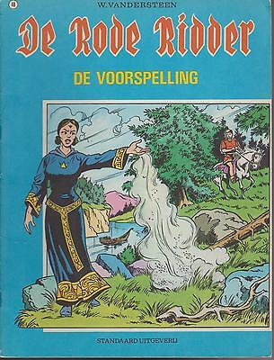DE RODE RIDDER 48 strip DE VOORSPELLING WILLY VANDERSTEEN