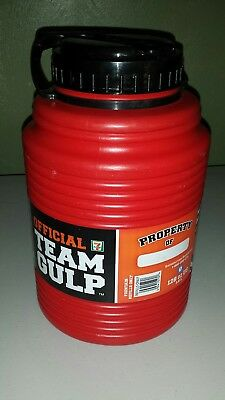 RARE OFFICAL TEAM GULP Red Referee from 7-11  128 oz 3.8L Water Jug Cooler #S4