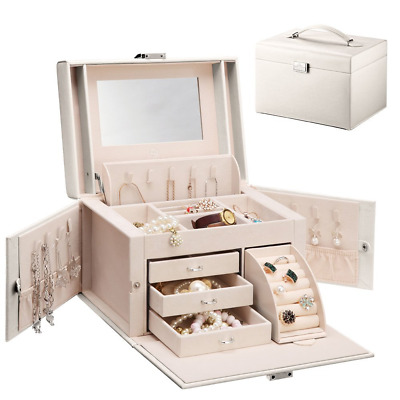 Vlando Jewellery Box For All Jewellry Collectons, Fabulous Ladies Birthday Gift