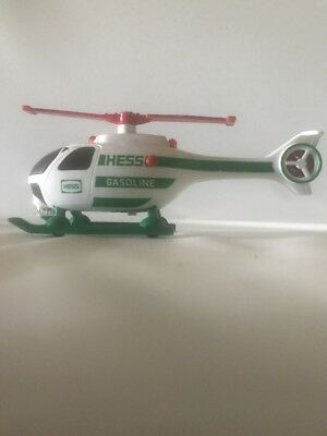 """Hess Lighted Helicopter NO BOX 1996 """"HESS GASOLINE"""" No helicopter No Semi Truck"""