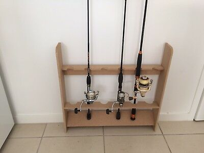 Fishing Rod Rack - holds 6