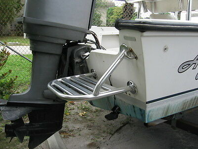Aluminum Swim Platform  For Outboard & Outdrive Boats
