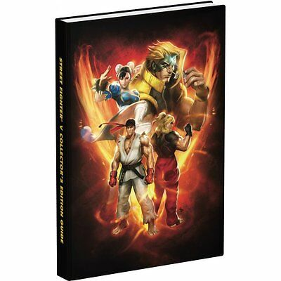 STREET FIGHTER V Collectors Edition Strategy Guide (Prima, Hardcover) BRAND NEW