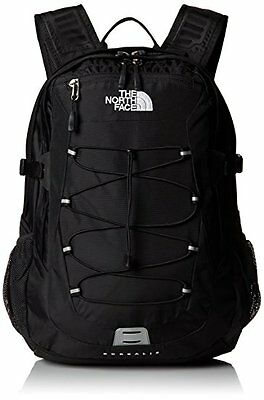 "New NWT Men's THE NORTH FACE BOREALIS Backpack TNF Black 15"" Laptop Bag"