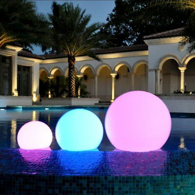 40cm Floating Mood Light LED Ball Orb for Pool Spa Pond Garden Light + Remote