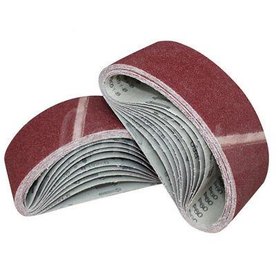 1/3pc 533*75mm/21*3'' Sanding Belts Mixed Grits 40, 60, 80,120 Sander Power Tool