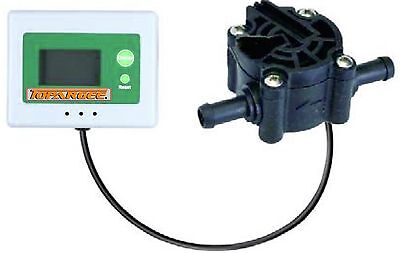 "3/8"" Fuel Flow Meter Digital Display, Including FOUR Extension Leads"
