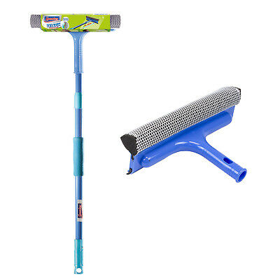 Telefix Window Cleaner with polish surface and telescopic stick