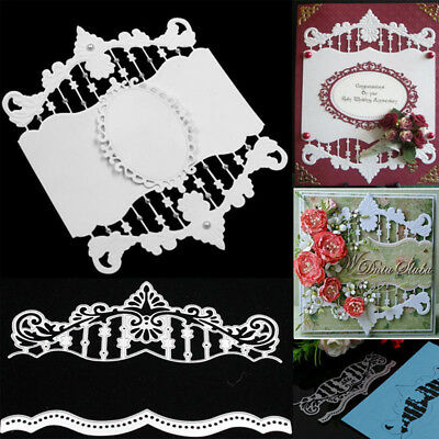 Vintage Borders Metal Cutting Dies Scrapbooking Album Embossing Paper Card DIY
