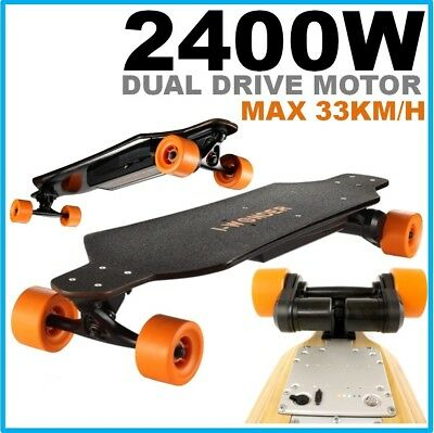 #1200W DC Brushless Motorized Boosted Electric Skateboard Bluetooth Remote Motor