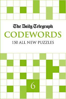 The Daily Telegraph Codewords 6 BRAND NEW BOOK (Paperback 2011)