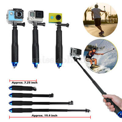 Waterproof Monopod Tripod Selfie Stick Pole Handheld for Gopro Hero 4 3+ SJ4000