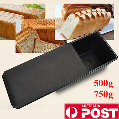 500g/700g Nonstick Rectangle Bread Pastry Cakes Loaf Tin Box Baking Pan Bakeware