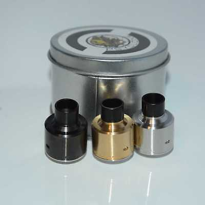 Hadaly RDA Rebuildable Dripping Stainless Rostfrei steel Stahl Replace