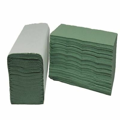 2Work Green I-Fold Hand Towel 1-Ply 190x250mm (Pack of 3600)  [2W70105]