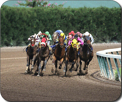 Horse Racing Large Mousepad Mouse Pad Great Gift Idea