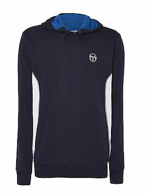 Sergio Tacchini Ladies Lucia Hoody - Navy/ white side panels