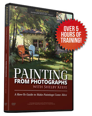 NEW - Shelby Keefe: Painting From Photographs - Art Instruction DVD