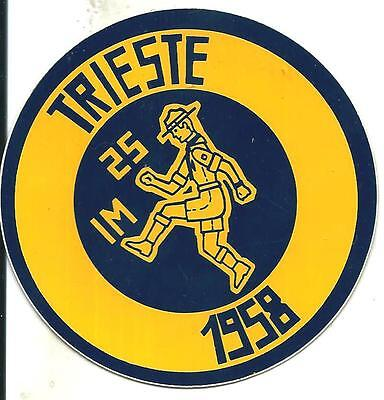 bp 18 Boy scout - GEI - IMPOSSIBILE - TRIESTE - 1958