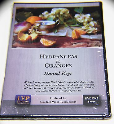Daniel Keys: Hydrangeas & Oranges - Art Instruction DVD