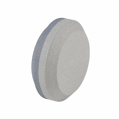 Dual Grit Puck Sharpener Round Knife Sword Axe Blade Dual Grit Sharpener Stone
