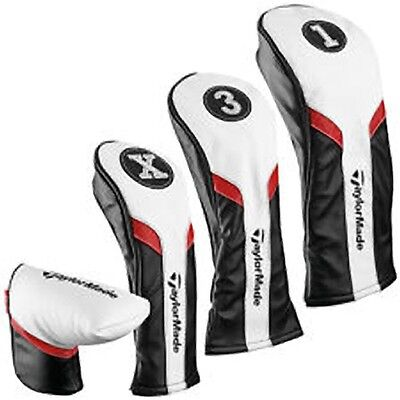 Taylormade 2017 Driver Headcover,3 Fairway,5 FairwayRescue And Putter Headcovers