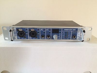 RME Fireface 400 Audio Interface 18 In 18 Out Soundcard