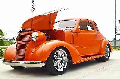 1938 Chevrolet Coupe  1938 Chevrolet Coupe Custom Hot Rod Pro Street 245679 Chevy street rod