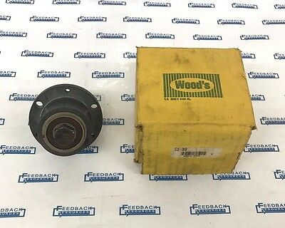 "TB WOODS SD-BB Quick Disconnect Idler Shaft Bushing 1/2"" : New Old Stock"