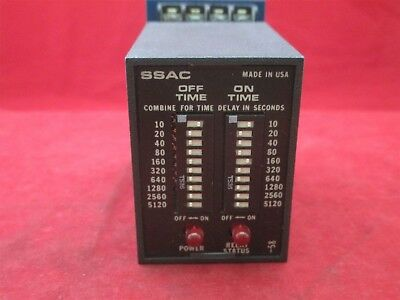 SSAC TDR4A33 Time Delay Relay