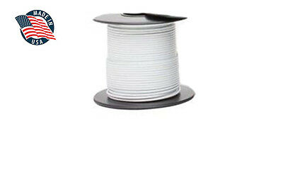 100ft MilSpec high temperature wire cable 22 Gauge WHITE Tefzel M22759/16-22-9