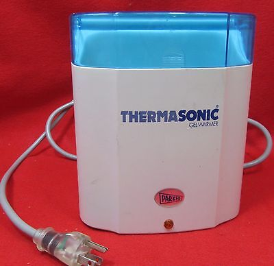 Parker Thermasonic Gel Warmer - 3 Temp Setting.  Good Working Condition.-