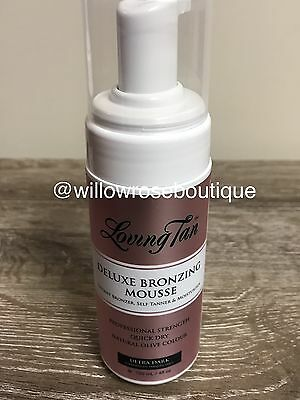 Loving Tan Deluxe Bronzing Mousse 120ml - Ultra Dark Brand New
