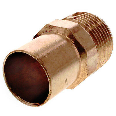 "1-1/4"" Street Male Adapter Copper Fitting"