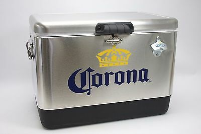 Corona Stainless Steel Cooler 54qt. NEW IN BOX!! Made In the USA. Free shipping.