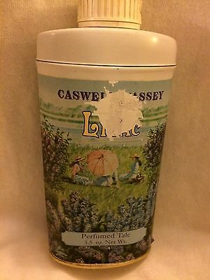 Caswell Massey LILAC Perfumed Talc 3.5oz Can No Animal Ingredients USA