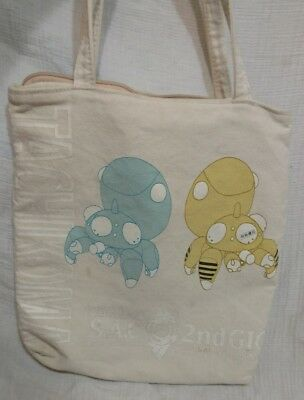 Ghost in the shell canvas tote bag purse, Tachikoma SAC 2nd gen