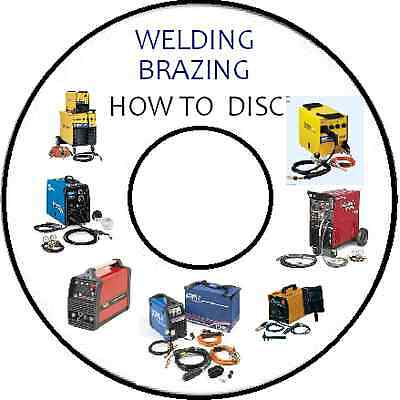 HOW TO TIG MIG ARC OXY BRAZING WELDING and SPRAY PAINTING HOW TO GUIDE CD