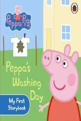 Peppa Pig: Peppa's Washing Day by Various [Board Book]