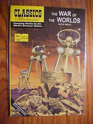 CLASSICS ILLUSTRATED  #124 THE WAR OF THE WORLDS (JACK LAKE 2005) FN to NM